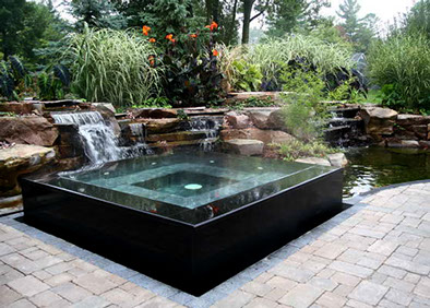 Residential designscapes for Koi pond design layout